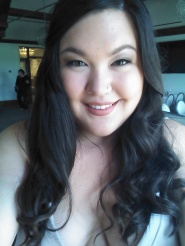 Taking a wedding selfie to immortalize one of the few times I've been in full hair & makeup